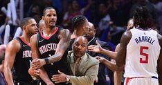 Houston Rockets push into LA Clippers' locker room https://goo.gl/boksbs  #Rockets #NBA #Clippers #austinrivers #BlakeGriffin #ChrisPaul