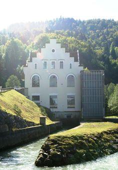 VKW Kraftwerk in Andelsbuch