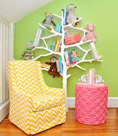 39 Modèles de meuble bibliothèque d'enfant