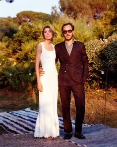 Stylist Lolita Jacobss Effortlessly Chic Wedding in the South of France - May 04 2019 at French Wedding, Chic Wedding, Cowgirl Wedding, Ibiza Wedding, Vogue Wedding, Paris Wedding, Alaia Dress, Bonnie Tyler, Beautiful Girlfriend