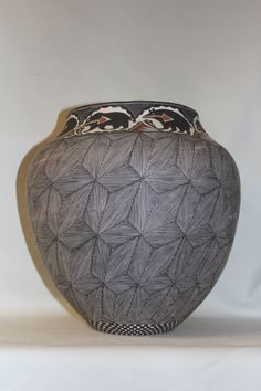 Pottery Jar : Native American Acoma Pottery Jar, by Melissa Antonio #64