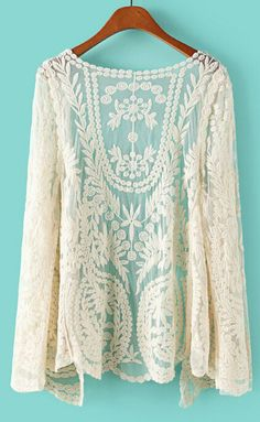 I love the lace and I think if it were paired with a nice solid top it would show off how beautiful it is