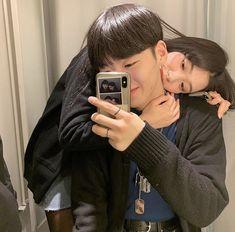 ─   𝐭𝐚𝐞𝐠𝐮𝐤𝐤𝐢 ┆ ☙ Friend Pictures, Couple Pictures, Cute Couples Goals, Couple Goals, Couple Ulzzang, Korean Girl Fashion, Cute Couple Art, Kpop Couples, Fashion Photography Poses