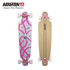KOSTON Professional Longboard Completes 40 Inch Skateboard 8ply Canadian Maple Laminated  Drop Through Board Cruising Skateboard #Affiliate