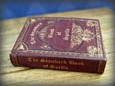 The Standard Book of Spells from Harry Potter by LittleWooStudio, $27.95