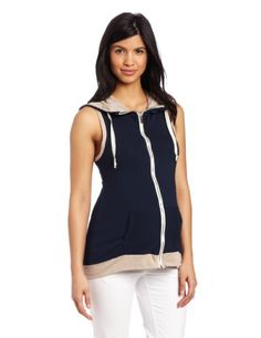 Lilac Maternity Women's Maternity Erin Zip Hoodie ($39.00) http://cheapmaternityclothesonline.com/product/lilac-maternity-womens-maternity-erin-zip-hoodie/