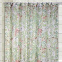 Ricardo Trading Cabbage Shower Curtain Set