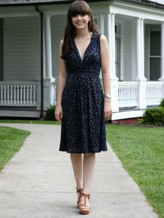 Twiglet Print Jersey Dress from Jigsaw London