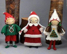 Mrs Claus and Elves bendy dolls    Flickr - Photo Sharing!..Danielle