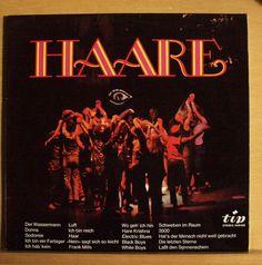 Deutsche Fassung - Haare - Vinyl LP Der Wassermann Luft Sodomie Frank Mills Haar