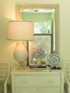Amazing lamp made from a broken apothecary jar. by eddie