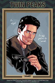 Chris Evenhuis portrait series - James Hurley