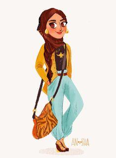 _Anoosha-Syed-modern-disney-Princesses-2