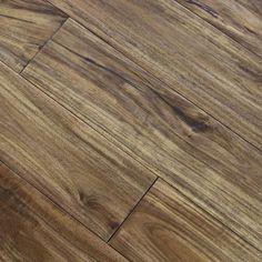"Acacia Natural Haze 3/4 x 4-3/4"" Hand Scraped | Solid Hardwood Flooring…"