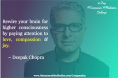 How To Rewire Your Brain With Compassion, Joy And Love Laughter Therapy, Sleep Therapy, Research Images, Social Media Detox, Hormone Replacement Therapy, Kids Mental Health, Deepak Chopra, Science Photos, Higher Consciousness