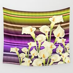 Calla Lilly  Wall Tapestry
