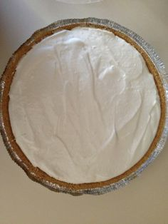 Easy Southern Lemon Icebox Pie