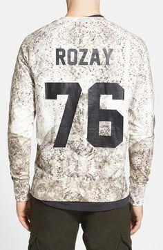 ELEVENPARIS+'Rozay'+Print+Sweatshirt+available+at+#Nordstrom