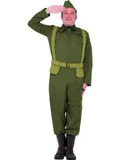 WW2 Home Guard Private Costume £27.75 : Direct 2 U Fancy Dress Superstore. http://direct2ufancydress.com/ww2-home-guard-private-costume-p-4013.html