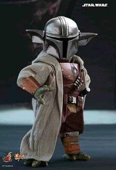 Yoda Pictures, Star Wars Pictures, Star Wars Images, Boba Fett, Regalos Star Wars, Cuadros Star Wars, Yoda Funny, Mandalorian Armor, Star Wars Jokes