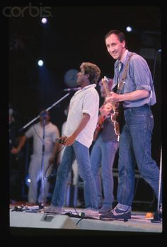 The Who Performing in Concert Live Aid