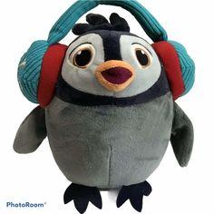 Hallmark Jammin Jaz Polariffic Pal Penguin Musical Plush See Video #Hallmark Retro Boutique, Dinosaur Stuffed Animal, Stuffed Animals, See Videos, Doll Toys, Dolls, Table Covers, Penguins, Musicals