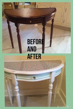 Furniture that I've re painted
