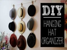 Best ideas about Diy hat rack ideas on Pinterest | Hat holder, Hat organization, Hat hanger, and Hat hanger