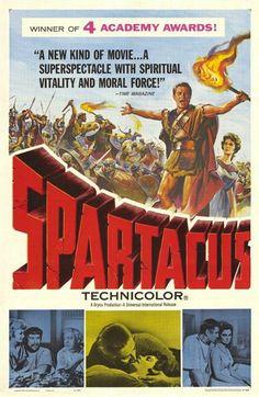 Spartacus' movie poster (Stanley Kubrick)