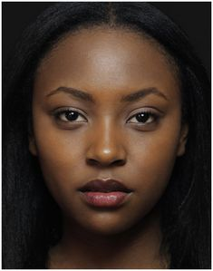 "I don't know her name but she's one of the faces representing Rwanda in the project ""Les origines de la beauté"""