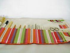 Crochet tools clutch