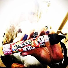 Sorry for the wait @bella_izusia  Repost  Finally restocked on @cerealmafia thanks so much John!! That was the longest week of my life without it I swear!!!!!  #cloudfather #teamcerealmafia #vapedaily #baltimorevape #thatgirlvapes #vapegirl #vapemodel #gi