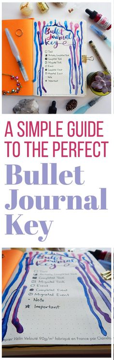 A bullet journal key is something that is super easy to do and can have many benefits. Check out how this simple bullet journal key can help increase your efficiency and help you gain confidence in your bullet journal! Bullet Journal Key, Bullet Journal How To Start A, Bullet Journal Spread, Bullet Journal Layout, Bullet Journal Inspiration, Journal Ideas, Bullet Journals, Bujo, Journal Organization