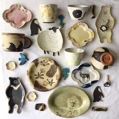 「#器並べ部」に参加して、器にこだわる生活はじめてみませんか? おうちごはん Ceramic Studio, Ceramic Clay, Ceramic Pottery, Pottery Art, Clay Art Projects, Ceramics Projects, Clay Crafts, Ceramic Glaze Recipes, Sculptures Céramiques