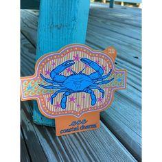 Crab Sticker