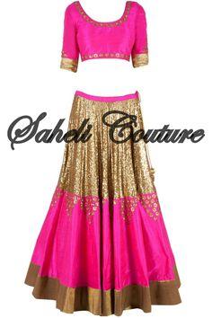 Lengha raw silk bridal #manishmalhotra
