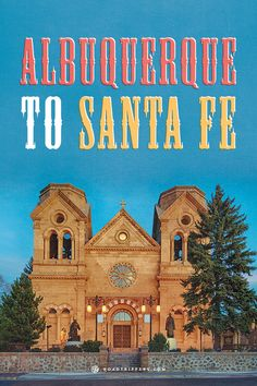 This road trip from Albuquerque to Santa Fe is filled with hotsprings, forest hikes and pie!
