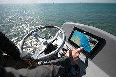 Raymarine has introduced new Axiom+ multifunction displays running a new operating system as well as employing newly developed LightHouse Charts. Saltwater Fishing Gear, Electronics For You, Fishing Magazines, New Operating System, Sport Fishing, Lighthouse, Charts, Rolls, The Unit