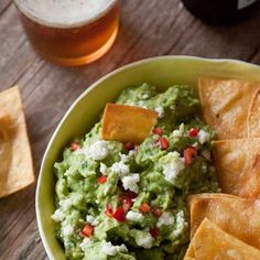DIP INTO THIS: Spicy queso fresco guacamole PLUS 9 more insanely delicious Cinco de Mayo party recipes: http://www.womenshealthmag.com/nutrition/guacamole-recipes