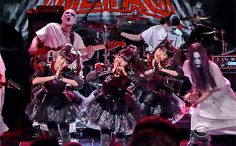 Babymetal perform on 'Colbert' | EW.com