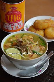 Diah Didi's Kitchen: Soto Kudus Soto Ayam Recipe, Easy Cooking, Cooking Recipes, Indonesian Cuisine, Indonesian Recipes, Diah Didi Kitchen, Malay Food, Malaysian Food, Kitchen Recipes