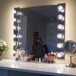 Glam! DIY Lighted Vanity Mirrors
