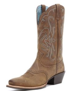 Ariat Women's Legend Boot, Distressed Brown