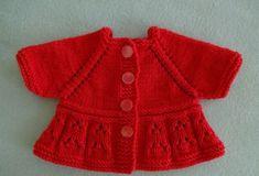 Kırmızı Bebek Yeleği Yapılışı Resimli Anlatımlı
