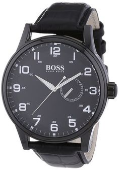 Hugo Boss 1512833 Mens Leather Watch - The Watch Studio
