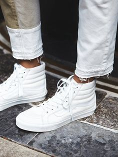 Vans Sk8-Hi Top Sneaker at Free People Clothing Boutique