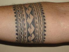 Armband Tattoo Mann Handgelenk