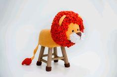 Baby Knitting Patterns, Amigurumi Patterns, Crochet Animals, Crochet Toys, Crochet Baby, Knit Crochet, Stool Cover Crochet, Kids Stool, Crafts