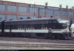 Diesel Locomotive, Steam Locomotive, Atlanta Travel, Railroad History, Southern Railways, Railroad Photography, Badass, Trains, Transportation