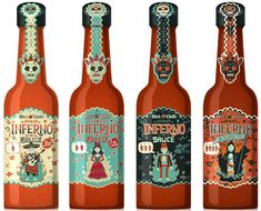 More hot sauce packaging